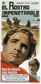 One-Eyed Jacks - Spanish Movie Poster (xs thumbnail)