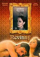 L'innocente - Czech DVD cover (xs thumbnail)