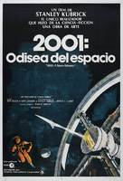 2001: A Space Odyssey - Argentinian Movie Poster (xs thumbnail)