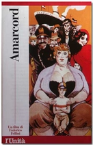 Amarcord - Italian DVD cover (xs thumbnail)
