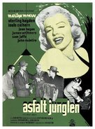 The Asphalt Jungle - Danish Movie Poster (xs thumbnail)