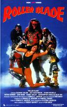 Roller Blade - German VHS cover (xs thumbnail)