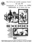 Exodus - Spanish Movie Poster (xs thumbnail)