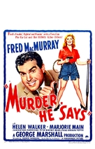 Murder, He Says - Theatrical poster (xs thumbnail)