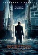 Inception - German Movie Poster (xs thumbnail)