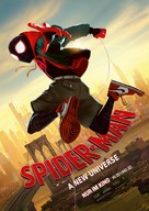 Spider-Man: Into the Spider-Verse - German Movie Poster (xs thumbnail)