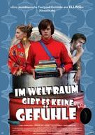 I rymden finns inga känslor - German Movie Poster (xs thumbnail)