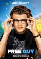 Free Guy - Croatian Movie Poster (xs thumbnail)