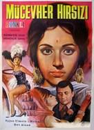 Jewel Thief - Turkish Movie Poster (xs thumbnail)