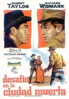 The Law and Jake Wade - Spanish Movie Poster (xs thumbnail)