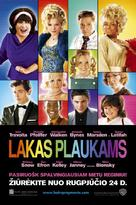Hairspray - Lithuanian Movie Poster (xs thumbnail)