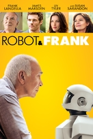 Robot & Frank - DVD cover (xs thumbnail)