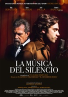 La musica del silenzio - Spanish Movie Poster (xs thumbnail)