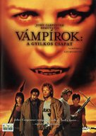 Vampires - Hungarian Movie Cover (xs thumbnail)