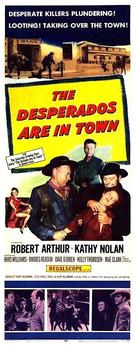 The Desperados Are In Town 1956 Movie Posters