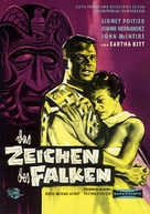 The Mark of the Hawk - German Movie Poster (xs thumbnail)