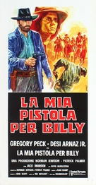 Billy Two Hats - Italian Movie Poster (xs thumbnail)
