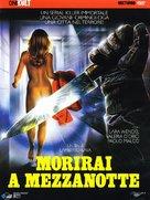 Morirai a mezzanotte - Italian Movie Cover (xs thumbnail)