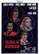 Soleil rouge - Italian Movie Poster (xs thumbnail)