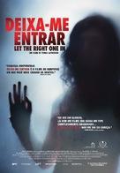 Låt den rätte komma in - Portuguese Movie Poster (xs thumbnail)