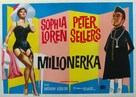 The Millionairess - Yugoslav Movie Poster (xs thumbnail)