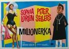 The Millionairess - Yugoslav Movie Poster (xs thumbnail)