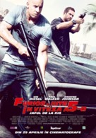 Fast Five - Romanian Movie Poster (xs thumbnail)