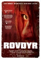 Rovdyr - Norwegian Movie Poster (xs thumbnail)