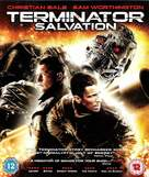 Terminator Salvation - British Blu-Ray cover (xs thumbnail)