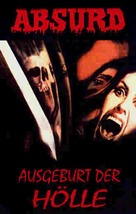 Rosso sangue - German VHS cover (xs thumbnail)