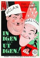 Pardon Us - Swedish Movie Poster (xs thumbnail)