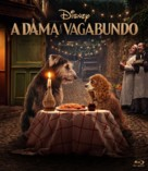 Lady and the Tramp - Brazilian Movie Cover (xs thumbnail)