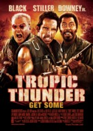 Tropic Thunder - Swedish Movie Poster (xs thumbnail)