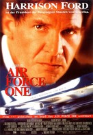 Air Force One - German Movie Poster (xs thumbnail)