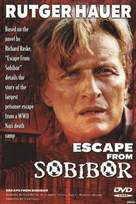 Escape From Sobibor - Australian DVD movie cover (xs thumbnail)