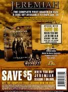 """Jeremiah"" - Video release movie poster (xs thumbnail)"
