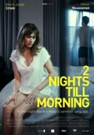 2 yötä aamuun - Finnish Movie Poster (xs thumbnail)