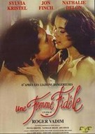 Une femme fidèle - French DVD cover (xs thumbnail)