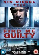 Find Me Guilty - British DVD movie cover (xs thumbnail)