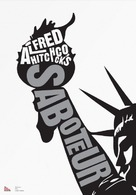 Saboteur - DVD cover (xs thumbnail)