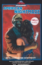 American Nightmare - German VHS cover (xs thumbnail)