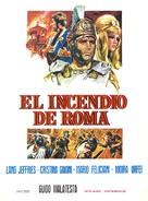 L'incendio di Roma - Spanish Movie Poster (xs thumbnail)