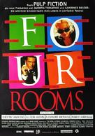 Four Rooms - German Movie Poster (xs thumbnail)