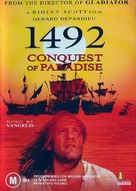 1492: Conquest of Paradise - Australian Movie Cover (xs thumbnail)