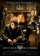 Män som hatar kvinnor - Norwegian Movie Poster (xs thumbnail)