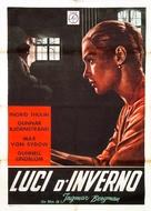 Nattvardsgästerna - Italian Movie Poster (xs thumbnail)