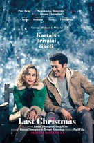 Last Christmas - Lithuanian Movie Poster (xs thumbnail)