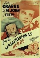 Fuzzy Settles Down - Swedish Movie Poster (xs thumbnail)