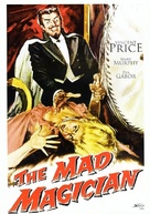 The Mad Magician - German DVD cover (xs thumbnail)
