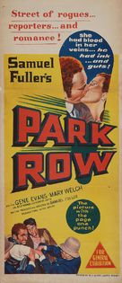 Park Row - Australian Movie Poster (xs thumbnail)